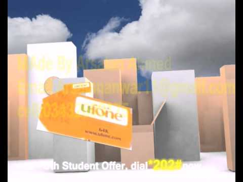 Ufone Advertise Made by Arsalan Ahmed