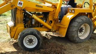 getlinkyoutube.com-1978 International 3600A Backhoe