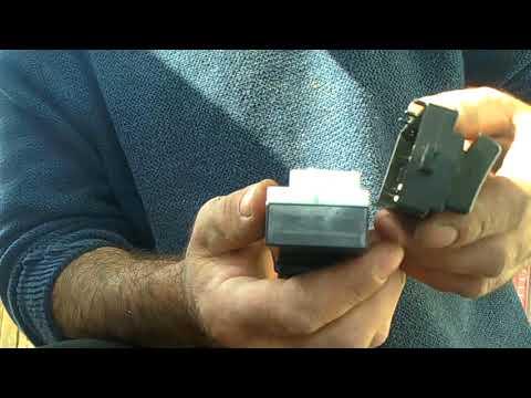 Ремонт кнопки стеклоподъёмника. DaihatsuTerios.ToyotaCami