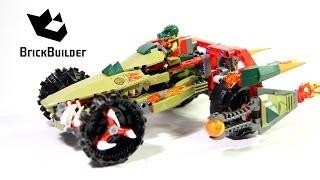 getlinkyoutube.com-Lego Chima 70135 Cragger's Fire Striker Build and review