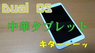 【エログロ注意報】Dual OS 中華タブレットキターーーッ【発令中】