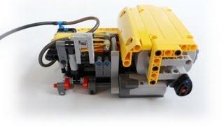 getlinkyoutube.com-Lego Technic automatic compressor(I)