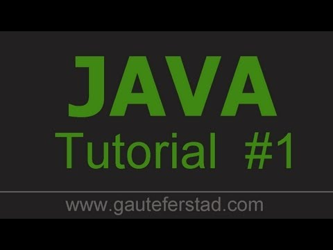 Java Programming Tutorial 01 Installing JDK