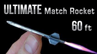 getlinkyoutube.com-Match Rocket - 60 Foot Ultimate Matchbox Rocket