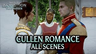 getlinkyoutube.com-Dragon Age: Inquisition - Trespasser DLC - Cullen Romance (all scenes)