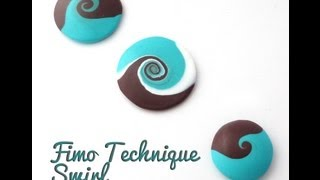 getlinkyoutube.com-Tuto Fimo - technique Swirl by FunFimo