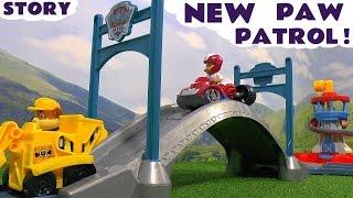 getlinkyoutube.com-Paw Patrol with funny Minions Toy Story - Roll Along Toy Trains Playset Toys Family Fun TT4U