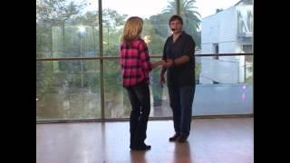 getlinkyoutube.com-Zydeco Dance Lesson - Basics of Zydeco Slides
