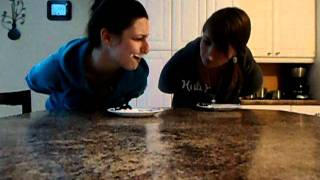 getlinkyoutube.com-Courtney& Timberly Brownie Eating Contest