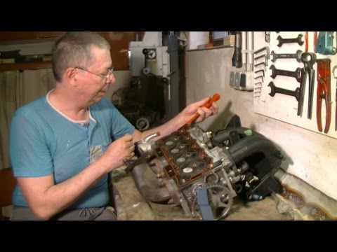 Peugeot/... Replacing cylinder head gasket 1.4l TU3 JP engine