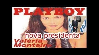 VALERIA MONTEIRO, EX-CAPA DA PLAYBOY ATACA BOLSONARO