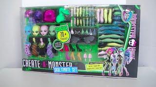 getlinkyoutube.com-Create A Monster Skultimate Set - Monster High