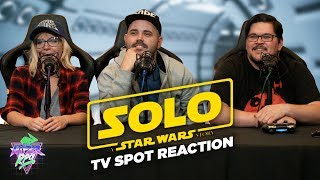 Solo: A Star Wars Story - Super Bowl LII TV Spot Reaction - Cineverse