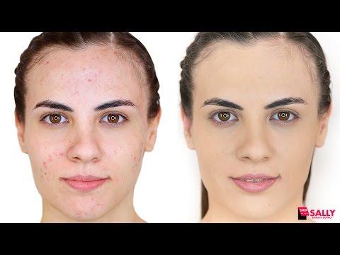 Rutina de Maquillaje para cubrir el Acné
