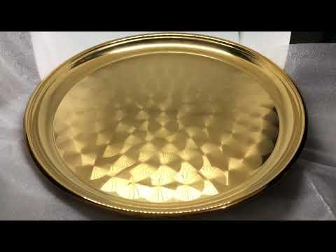 Mâm vàng, muỗng vàng đồ gia dụng inox 304 mạ vàng pvd titan