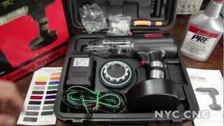 getlinkyoutube.com-DIY Powder Coating WITHOUT an Air Compressor