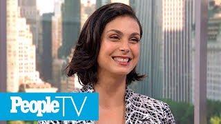 'Deadpool 2′  Star Morena Baccarin Dishes On Kissing Ryan Reynolds | PeopleTV