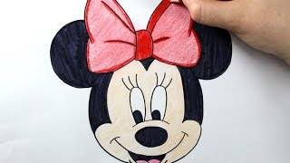 getlinkyoutube.com-How to Draw Minnie Mouse - Easy Drawing Tutorial