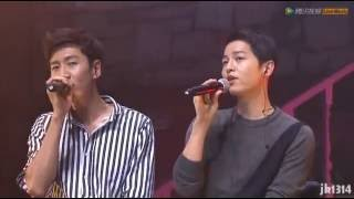 getlinkyoutube.com-160611 송중기 이광수 Song Joong Ki Lee Kwang Soo sing 두 사람 Two People 宋仲基 李光洙