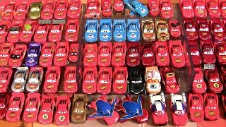 getlinkyoutube.com-85 Lightning McQueen Complete Diecast Collection Disney Pixar Cars Star Wars Mater's Tall Tales