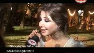getlinkyoutube.com-Nancy Ajram - Making Of Ya Kether Jaras TV