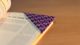 getlinkyoutube.com-DIY ORIGAMI: Cómo hacer un marcapáginas - How to make a bookmark