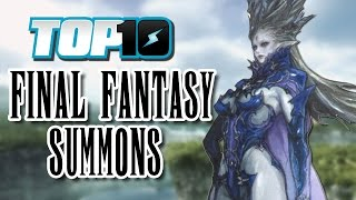 getlinkyoutube.com-Top 10 Final Fantasy Summons