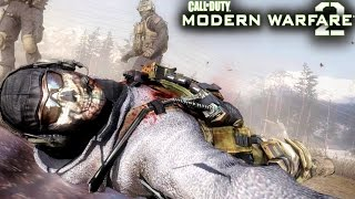 Call of Duty Modern Warfare 2: Ghost and Roach Death Mission Gameplay Veteran