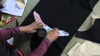 How to make Fashionable designer blouse O  part 3 of 16