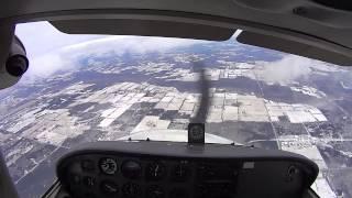 getlinkyoutube.com-Cessna 172 Spin Recovery Training (Full HD w/ audio)
