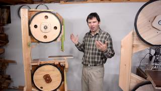 getlinkyoutube.com-First homemade bandsaw: Things learned