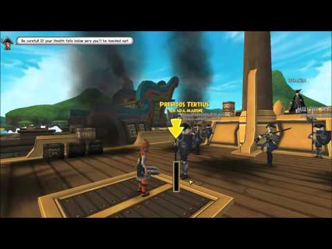 Pirate101: Swashbuckler + Privateer Let's Play: Part 1: Tutorial