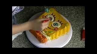 getlinkyoutube.com-طريقة صنع كعكة سبونج بوب بسهولة