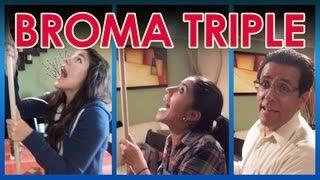 "getlinkyoutube.com-Broma al triple ""Baño en la sala"" |  | LOS POLINESIOS BROMAS PLATICA POLINESIA"