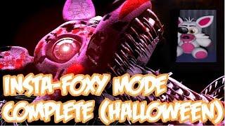 getlinkyoutube.com-INSTA-FOXY CHALLENGE COMPLETE   HALLOWEEN MANGLE PLUSH   Five Nights At Freddy's 4