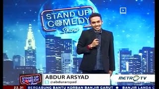 getlinkyoutube.com-Stand Up Comedy Metro TV Abdur Asyad 23 September 2016
