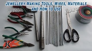 getlinkyoutube.com-Jewellery Making Tools, Wires, Materials and How to Use - JK Arts 305