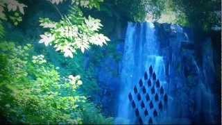 getlinkyoutube.com-música de relajación, bosque, cascada, naturaleza, montañas, música relajante y melodiosa