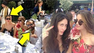 INSIDE VIDEO Kareena Kapoor CRAZY Party With Saif And Sonam Kapoor In London