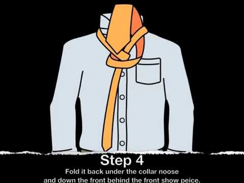 How-to-tie-a-tie - Four in Hand Tie Knot - How-to-tie-a-tie - by: Gentlemanjoe.com