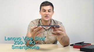 getlinkyoutube.com-Gearbest Review: Lenovo Vibe Shot Z90-7 4G Smartphone review - Gearbest.com