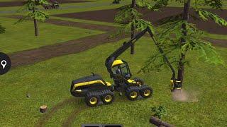 getlinkyoutube.com-Farming Simulator 16 - #5 Forestry - ScorpionKing and Buffalo - Gameplay