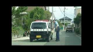 getlinkyoutube.com-カインズホームを出ると、カルト創価の犬・鳥取警察署の警部補が又々集団ストーカー
