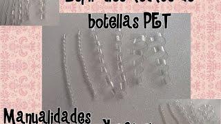 getlinkyoutube.com-ESPIRALES HECHOS CON BOTELLAS RECICLABLES PET