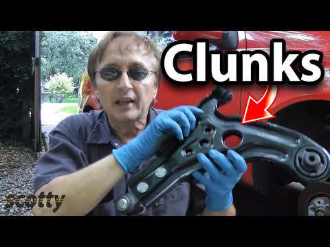 How to Fix a Car that Clunks (Lower Control Arm)