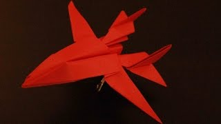 How to Make a F15 Paper Plane: Instruction