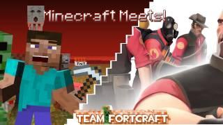 getlinkyoutube.com-Minecraft Meets - Team Fortcraft (Team Fortress 2!)