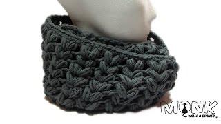 getlinkyoutube.com-Loop häkeln mit Büschelmaschen - Puff stitch