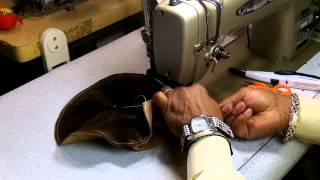 getlinkyoutube.com-How To Make A Leather Cap