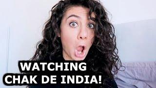 getlinkyoutube.com-WATCHING CHAK DE INDIA | INDIAN CULTURE | ROAD BACK TO INDIA | ENTERPRISEME TV